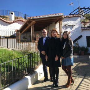 Mar Sánchez reivindica medidas efectivas de desarrollo económico y turístico y el impulso de las infraestructuras pendientes para la comarca de Guadix