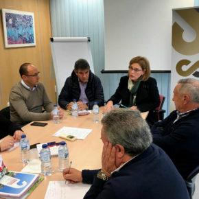 Mar Sánchez demanda el refuerzo de proyectos vitales para la comarca de Baza como la Línea 400kv y el desbloqueo de los regadíos para hacer frente al desempleo y la despoblación