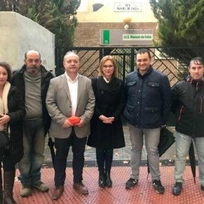 Mar Sánchez demanda una mejora significativa de los servicios públicos de la administración autonómica en Maracena