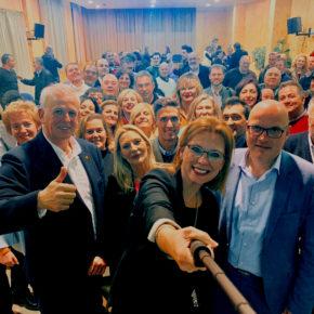 """Ciudadanos reivindica en un acto en Albolote la """"oportunidad histórica"""" que tiene Andalucía para contar con un gobierno que luche contra las lacras de la corrupción y el desempleo"""