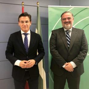 Luis Salvador traslada al delegado del gobierno de la Junta las prioridades políticas de Ciudadanos para Granada