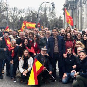 """Luis Salvador: """"Los españoles hoy hemos dicho basta ya a Pedro Sánchez"""""""