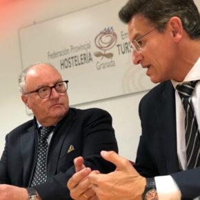 Luis Salvador garantiza el compromiso de Ciudadanos para llevar adelante las reivindicaciones de la Federación Provincial de Hostelería y Turismo