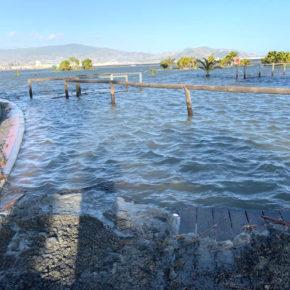 Ciudadanos demanda soluciones permanentes para mitigar los destrozos que causan reiteradamente los temporales en las playas de la Costa granadina