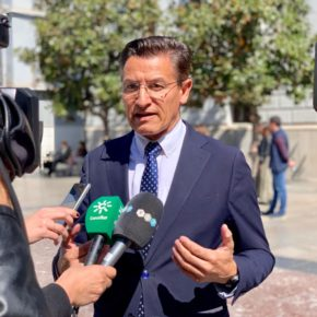 """Luis Salvador: """"El gobierno del cambio de la Junta también da respuesta a las necesidades del día a día de los andaluces"""""""