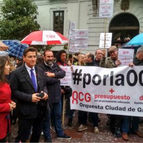 """Luis Salvador: """"Las instituciones no pueden tener a la Orquesta Ciudad de Granada en la indigencia aspirando a ser Capital Europea de la Cultura 2031"""""""