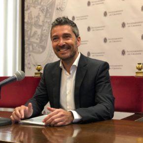 """Manuel Olivares destaca el papel """"responsable, conciliador y leal con los granadinos"""" que ha tenido Ciudadanos durante estos cuatro años en el Ayuntamiento"""