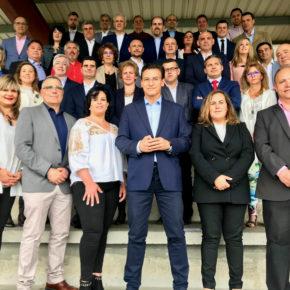 Los candidatos de Ciudadanos a las alcaldías de los municipios del área metropolitana suscriben un decálogo para abordar el nuevo proyecto de desarrollo urbano de Granada