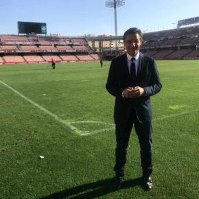 """Luis Salvador anima a los granadinos a viajar a Albacete para apoyar al Granada CF en un partido """"decisivo"""" para su ascenso a Primera"""
