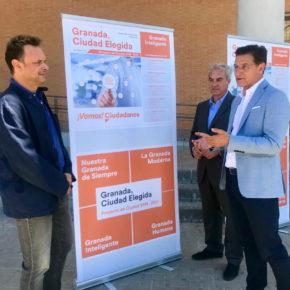 Ciudadanos creará el Instituto Municipal Granada Inteligente para impulsar la economía y el emprendimiento