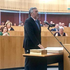 Francisco Rodríguez Ríos y Fran Martín Heredia toman posesión como diputados provinciales de Ciudadanos en Granada