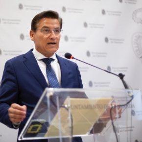 Luis Salvador remarca su rotundo compromiso con la integración soterrada del AVE en la estación de Avenid de Andaluces