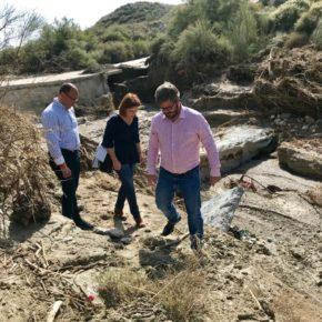 Hervías valora la inmediatez del Gobierno andaluz para atender la situación de emergencia que han sufrido los 72 municipios granadinos afectados por la DANA