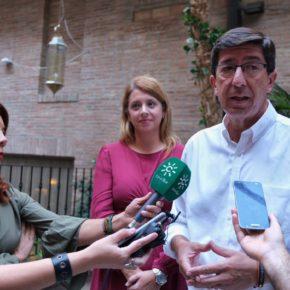 Juan Marín destaca la colaboración con todos los cargos públicos de Cs en la provincia para afrontar los grandes retos de futuro
