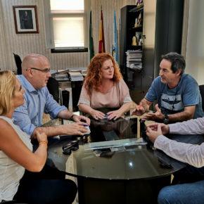 Raúl Fernández aborda junto al gobierno local de Salobreña diferentes propuestas para la elaboración de un Plan Estratégico de Turismo para la Costa Tropical