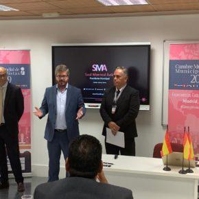 """Fran Hervías clausura la Cumbre Mundial de Municipalistas poniendo los acuerdos de gobierno en la provincia de Granada como """"modelos de la política del cambio"""""""