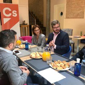 """Hervías reivindica el papel de Ciudadanos para impulsar """"de una vez por todas"""" los grandes proyectos de Granada"""