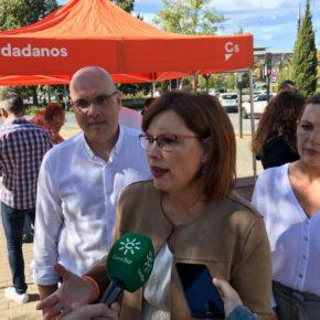 """Mar Sánchez: """"Los presupuestos naranjas son los del compromiso, la estabilidad y el crecimiento andaluz"""""""
