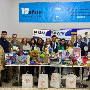 Ciudadanos Granada realiza su entrega solidaria de juguetes y material educativo a la ONG Inpavi