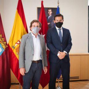 Luis Salvador sella con Almeida una potente alianza turística entre Granada-Madrid