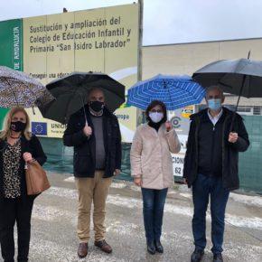 """Ciudadanos valora los avances en el colegio de El Chaparral y el nuevo IES como """"pruebas fehacientes"""" del compromiso de la Junta con Albolote"""