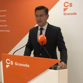 """Luis Salvador: """"El Corredor Mediterráneo no ha dejado de ser una apuesta estratégica y de máxima prioridad para Ciudadanos Granada"""""""