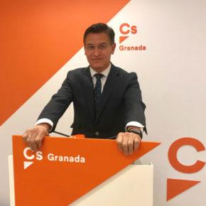 """Luis Salvador: """"Cs vuelve a evidenciar la sensibilidad de la Junta con Granada con las nuevas ayudas por el enjambre sísmico"""""""