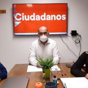 """Ocaña destaca el """"salto tecnológico y el alentador horizonte empresarial"""" de Albolote gracias al """"trabajo coordinado"""" de Cs en las instituciones"""