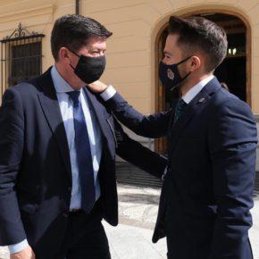 """Marín: """"Hoy Ciudadanos y Huéscar dan un gran ejemplo a toda Andalucía de respeto a los acuerdos y de normalidad democrática"""""""