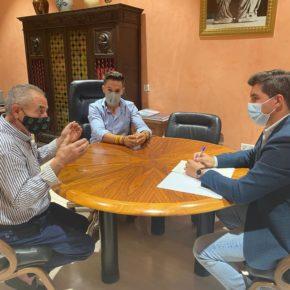 Ciudadanos estudia junto a UPA medidas que ayuden a paliar la sequía en la comarca de Huéscar